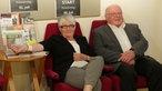 """Norbert Blüm und seine Ehefrau bei der Preview zur WDR-Doku """"Im Auftrag meiner Enkel – Norbert Blüm erkundet die Zukunft"""""""