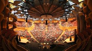 Der Konzertsaal der Philharmonie Köln, 2013