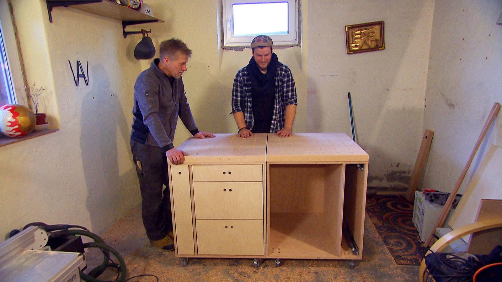 die perfekte werkbank selber bauen freizeit verbraucher wdr. Black Bedroom Furniture Sets. Home Design Ideas