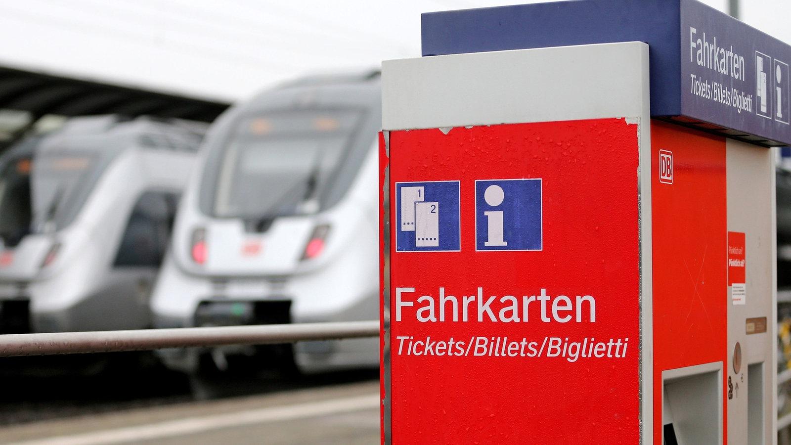 Deutsche Bahn Mehr Züge Höherer Preis Für Fahrkarten Verbraucher