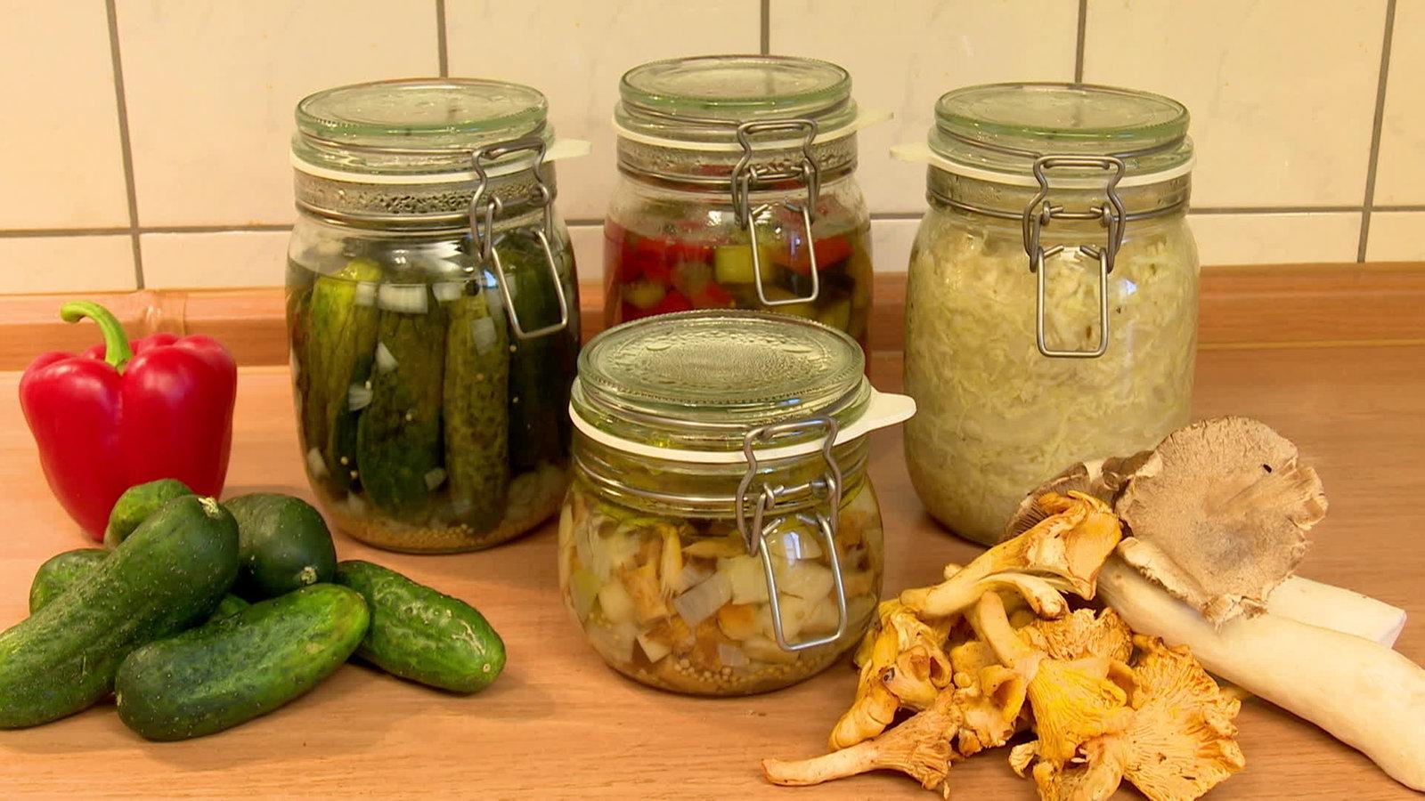 Sauer eingelegte zucchini rezept