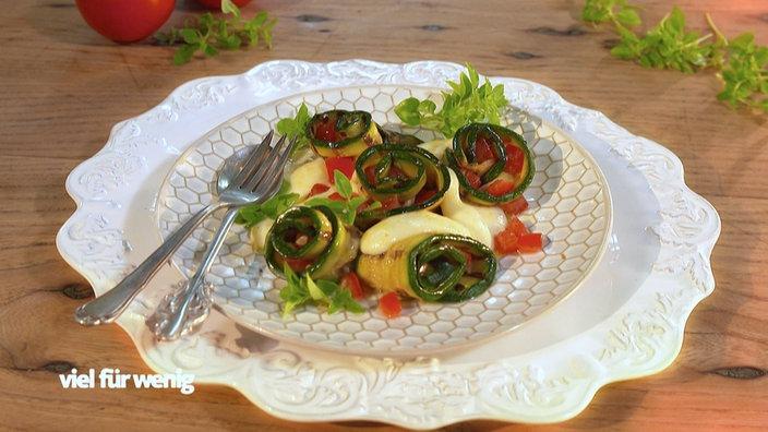vorspeise zucchinir llchen mit tomaten rezepte rezepte verbraucher wdr. Black Bedroom Furniture Sets. Home Design Ideas
