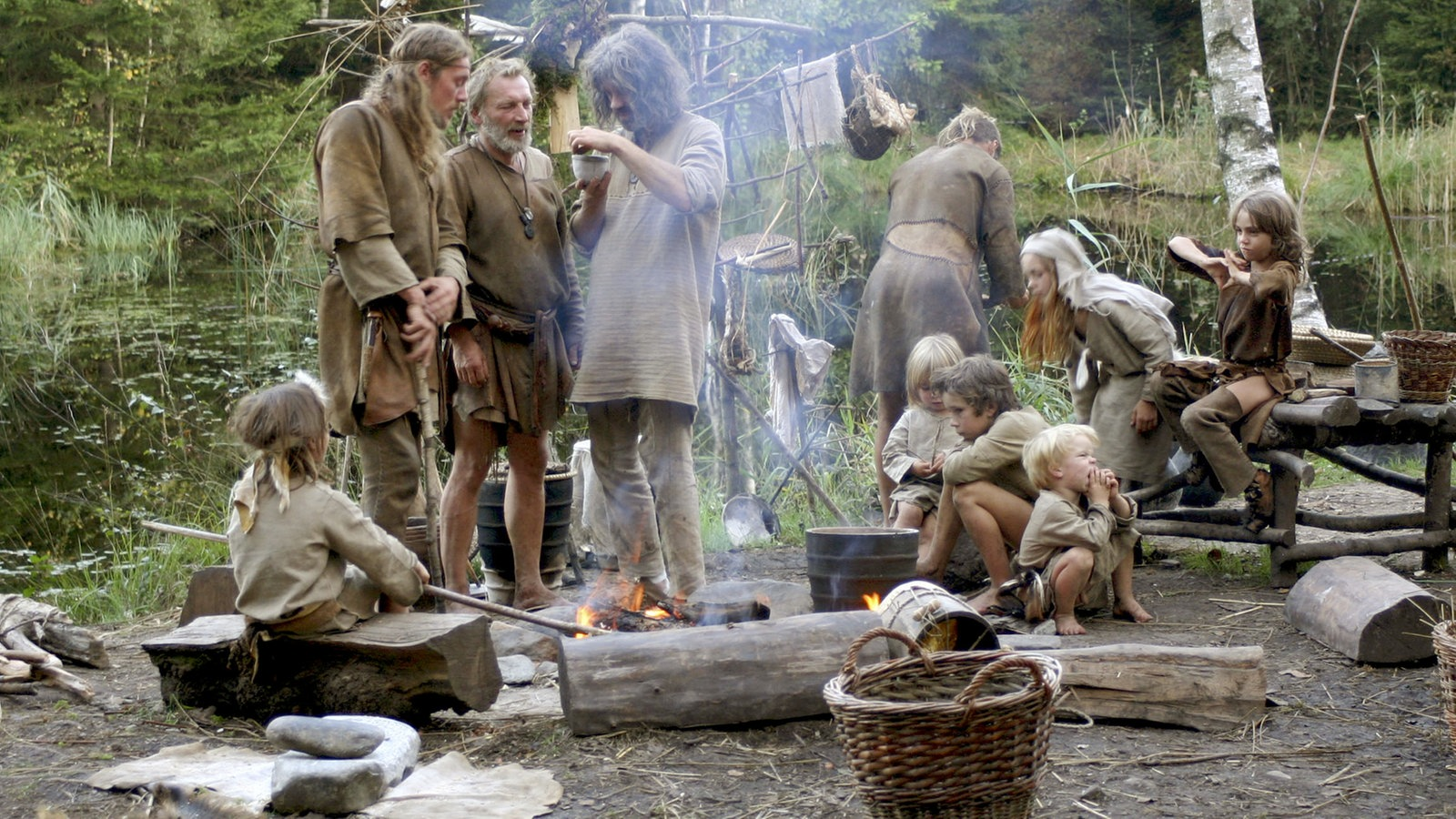 Kochen In Der Steinzeit