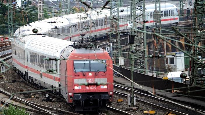 Abgesackte Gleise Bahnstrecke Zwischen Lünen Und Münster Mit