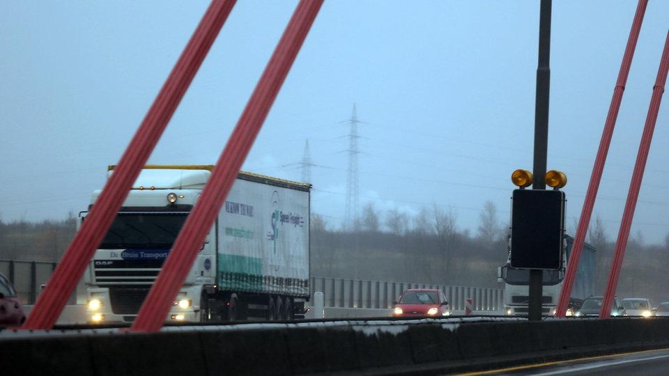Leverkusener Brücke Gesperrt