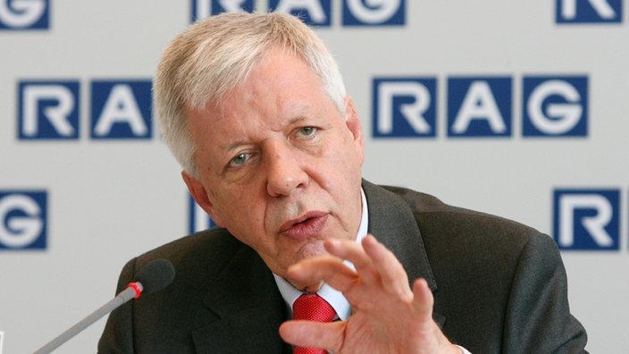 Werner Müller ist tot: Ex-Bundeswirtschaftsminister nach Krankheit gestorben