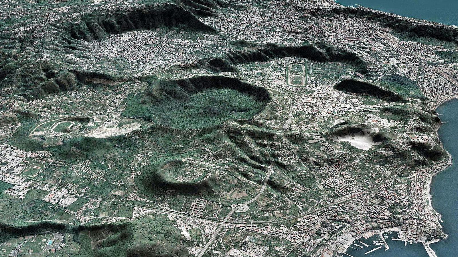 Phlegräische Felder Neapel