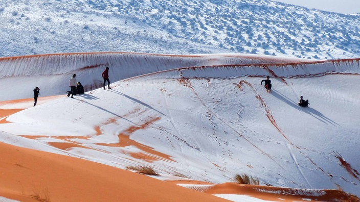 Schnee In Der Sahara Quarks Umwelt Wissen Wdr