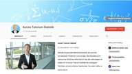 "Screenshot des Youtube-Tutorials ""Kurzes Tutorium Statistik"""